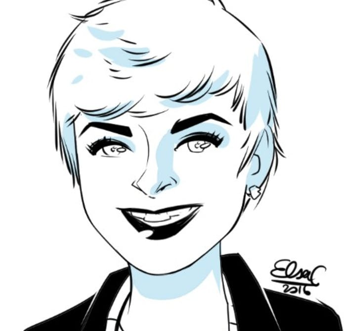 An illustration of Silverstein by Elsa Charretier.