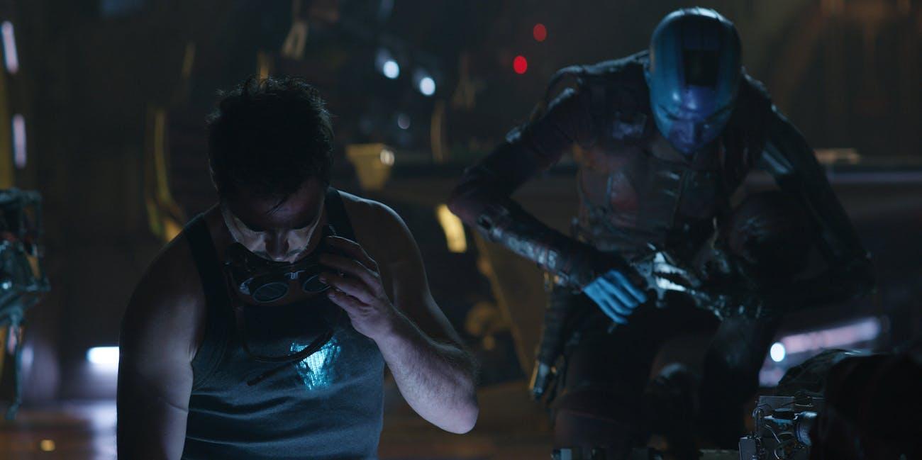 Avengers Endgame Tony Nebula