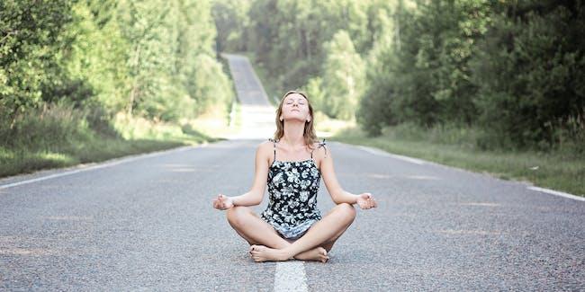 Road meditation