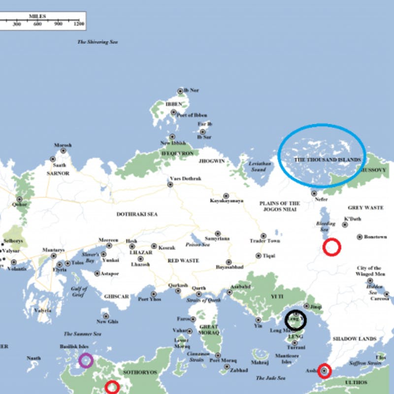 Wild \'Game of Thrones\' Theory Connects Westeros and Essos on a Map ...