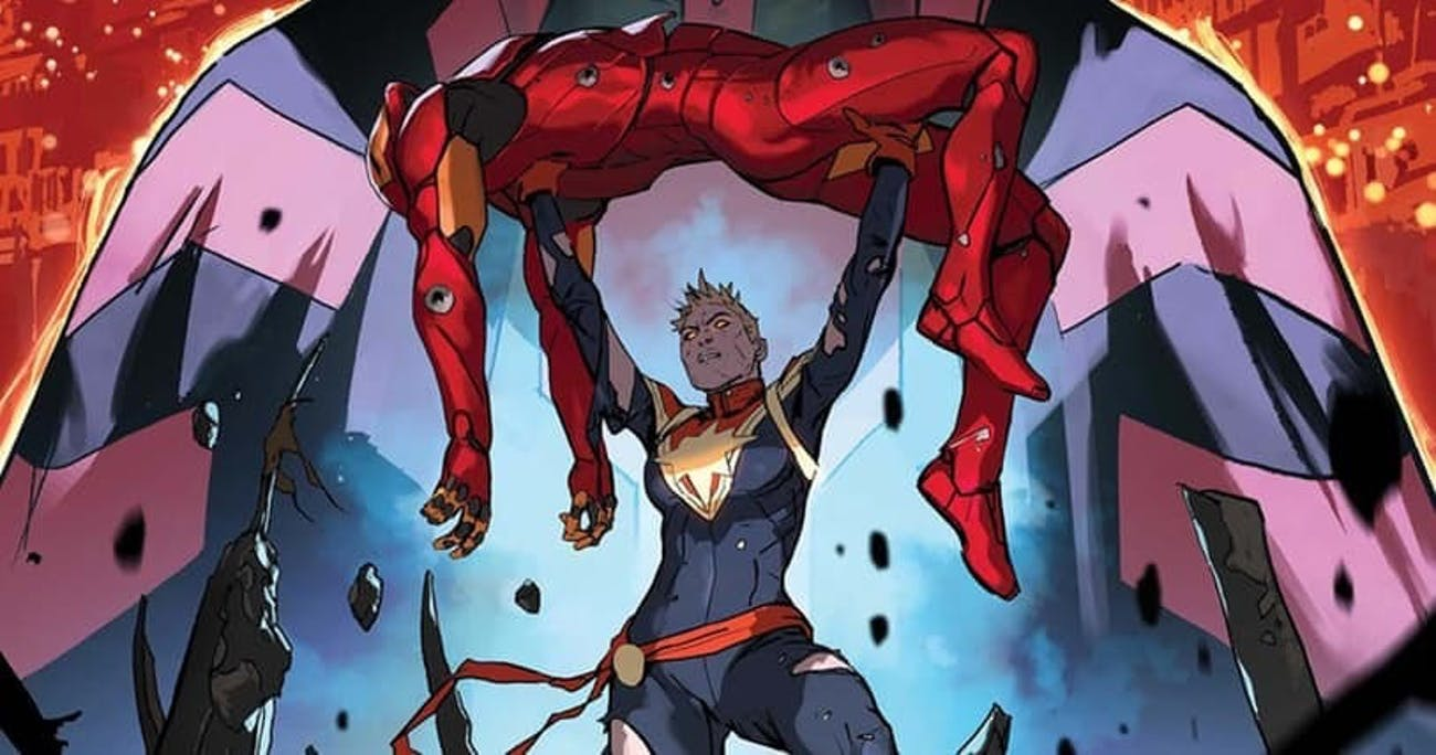 Cover of Marvel's Civil War II