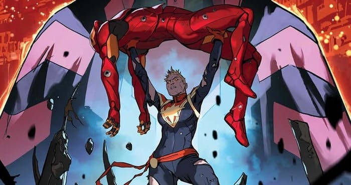 Cover of Marvel's Civil War II