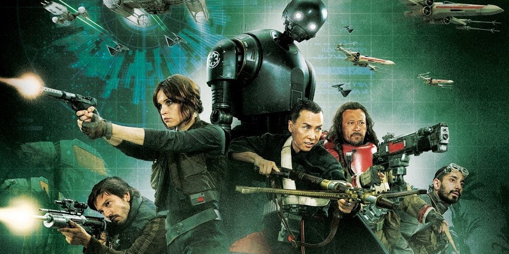 Rogue One continues to dominate the box office.