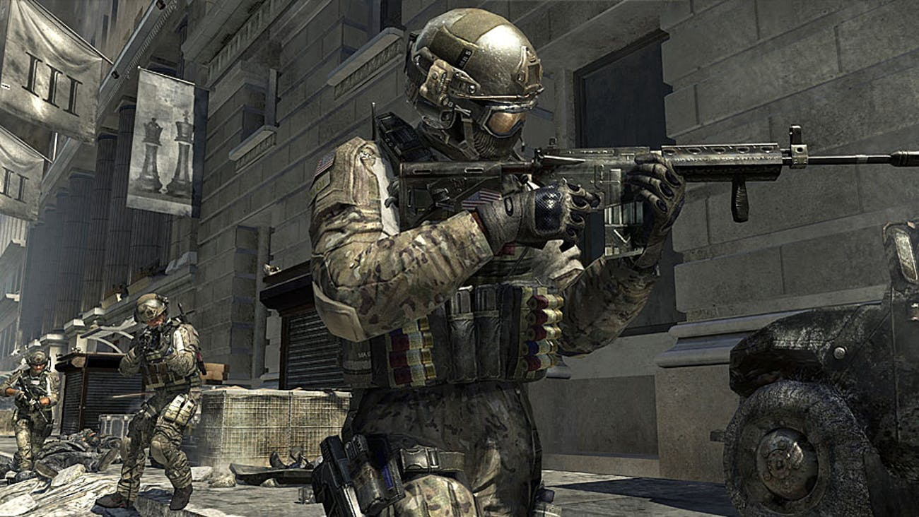 A soldier in 'Modern Warfare 3'.