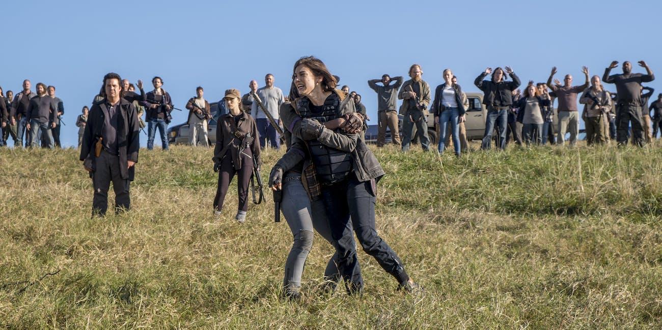 The Walking Dead Season 8 Maggie