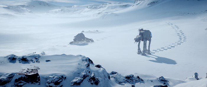 Even colder than the Hoth of Star Wars.