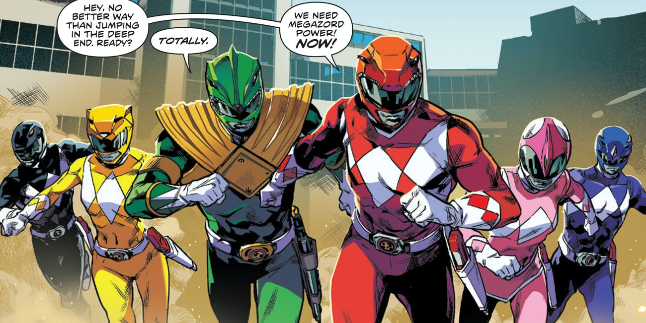 Power Rangers BOOM Comics