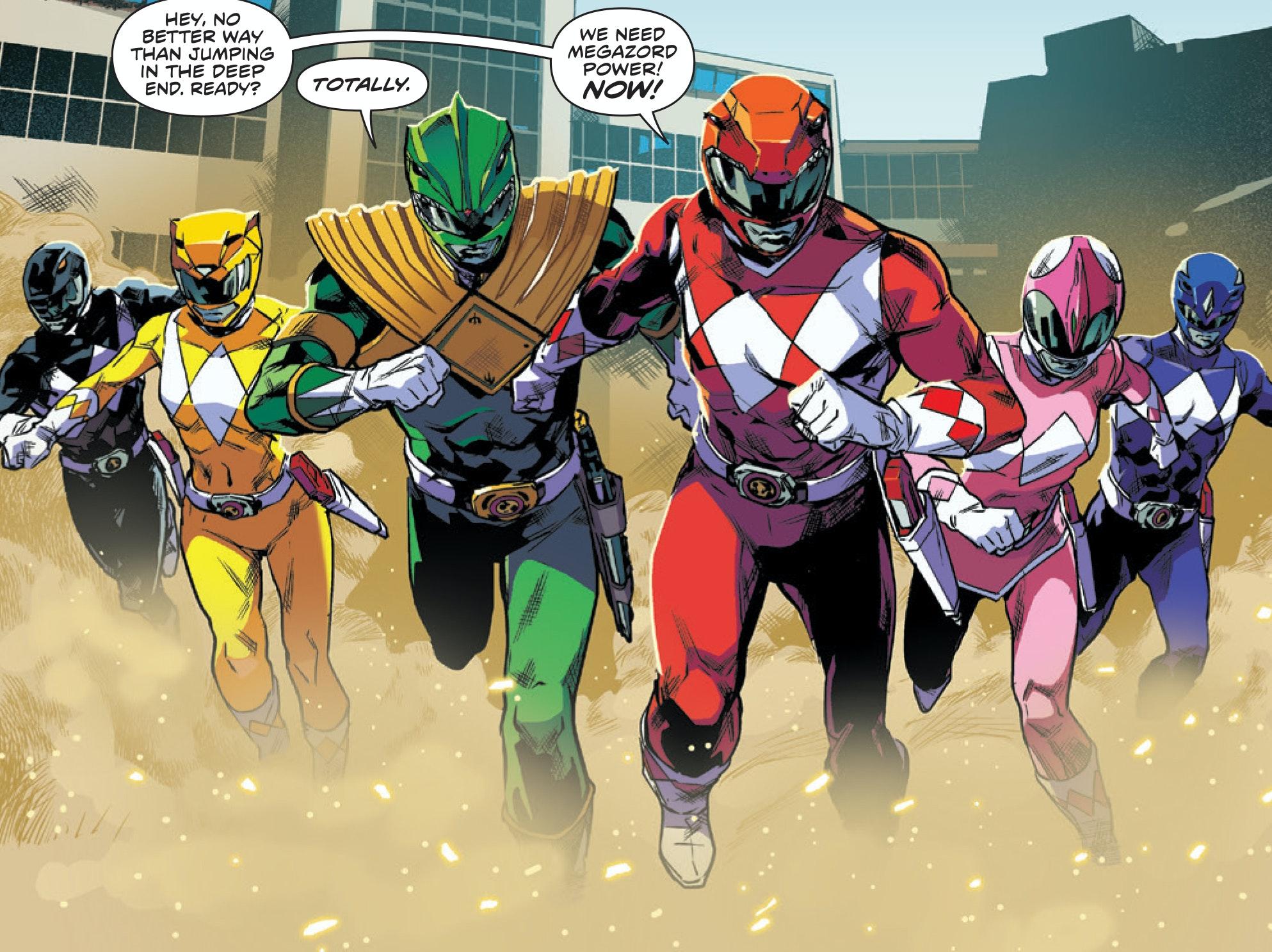 Anti-Nostalgic 'Power Rangers' Was One of 2016's Best Comics