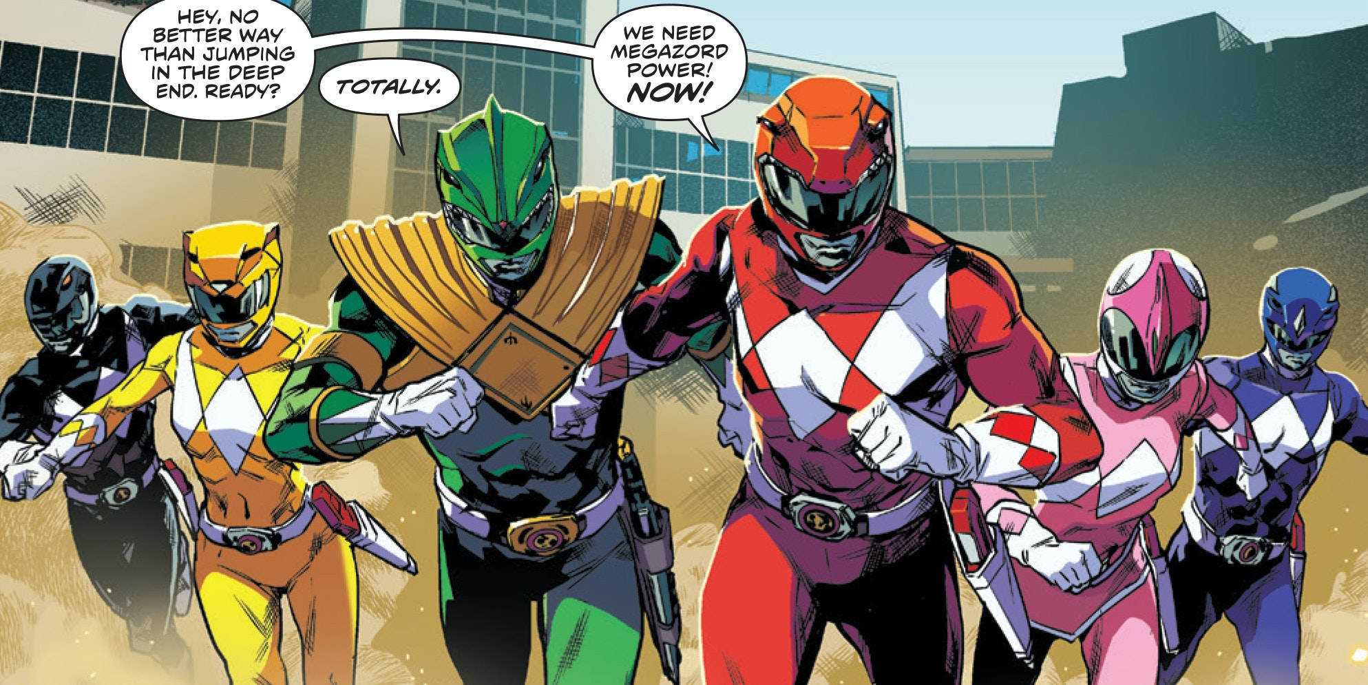 Anti-Nostalgic 'Power Rangers' Was One of 2016's Best Comics