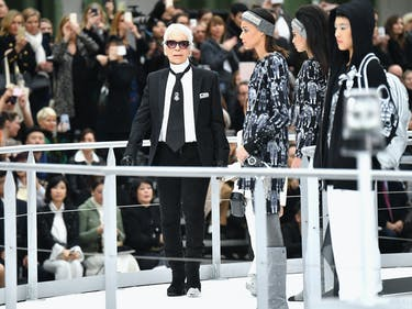 The Internet Freaked Out Over Paris Fashion Week's Rocket Launch