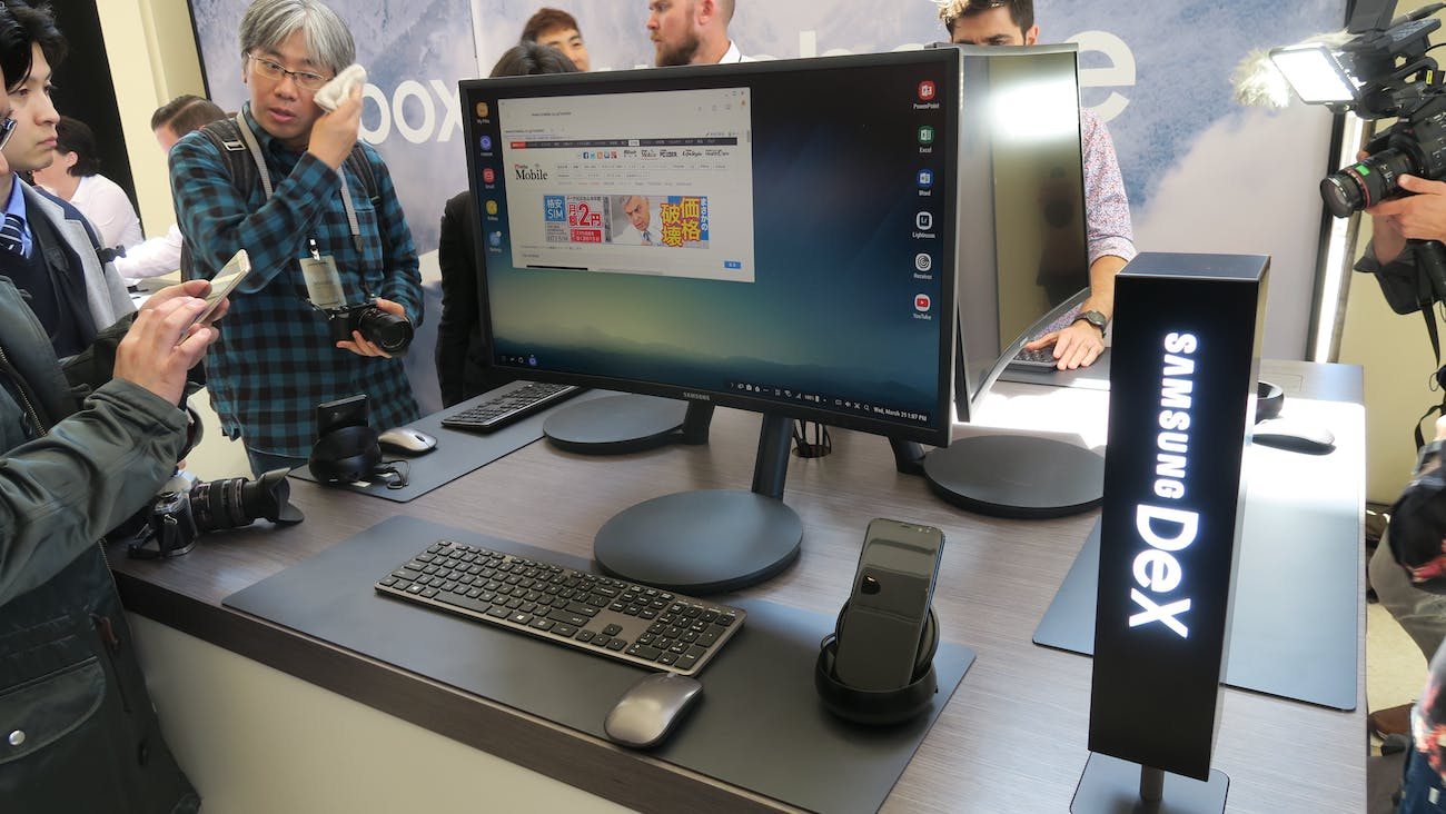 Samsung DeX is cool, but it's a few years too late.