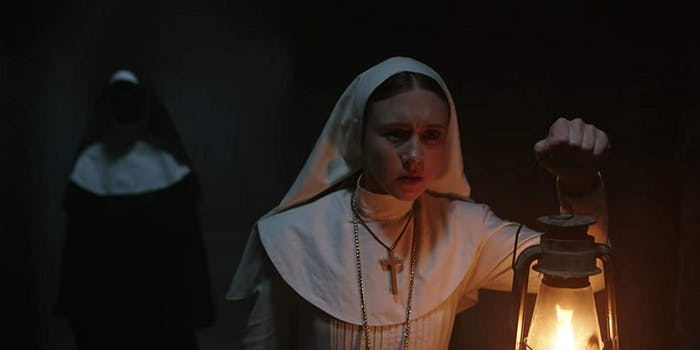 the nun after credits scene
