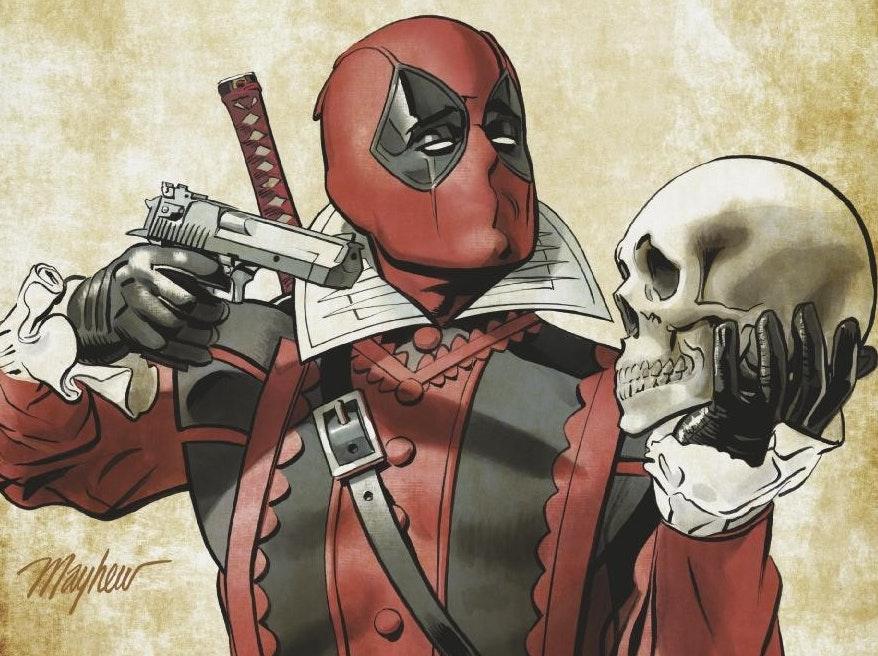 Deadpool's New Comic Is a Hilarious Shakespearean Murder Mashup