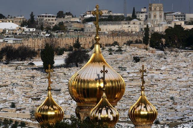 Russian onion domes