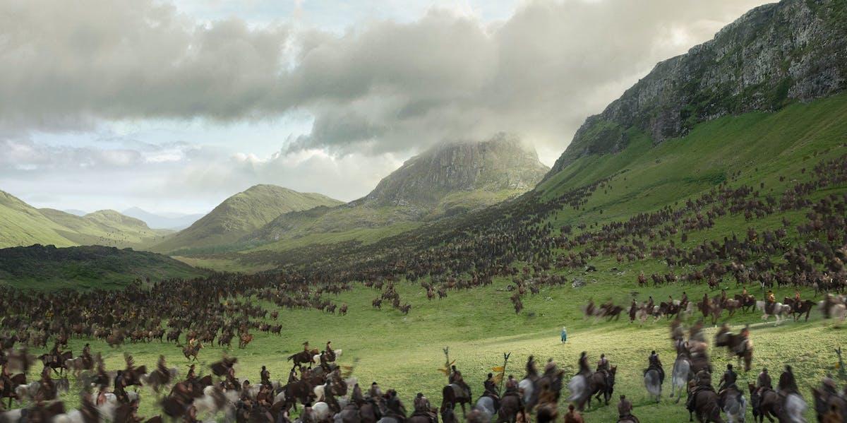 The key to saying 'Hello' in Dothraki is saying it really loud.