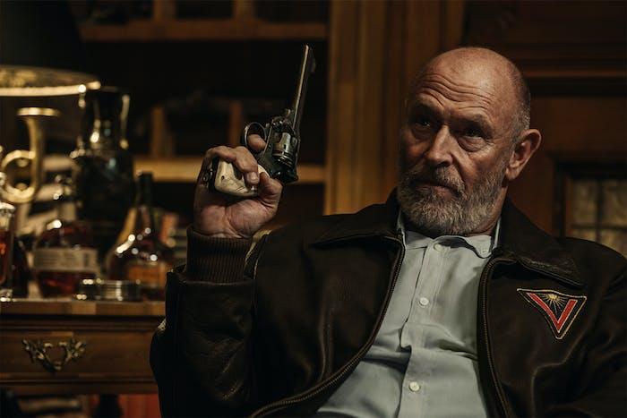 Corbin Bernsen as Vulcan in 'American Gods'