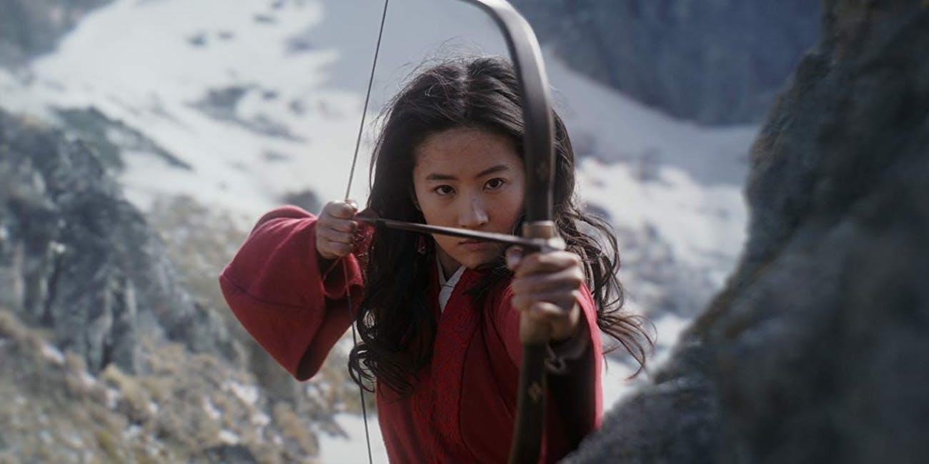 Liu Yifei as Mulan in Disney's Mulan