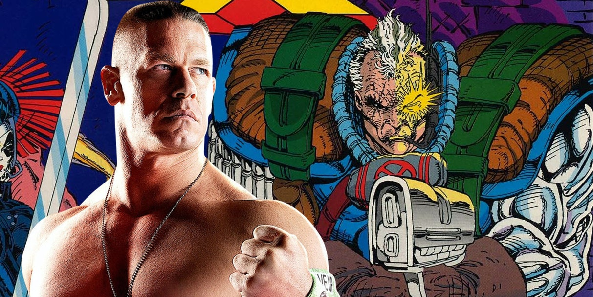 Cable John Cena Deadpool 2