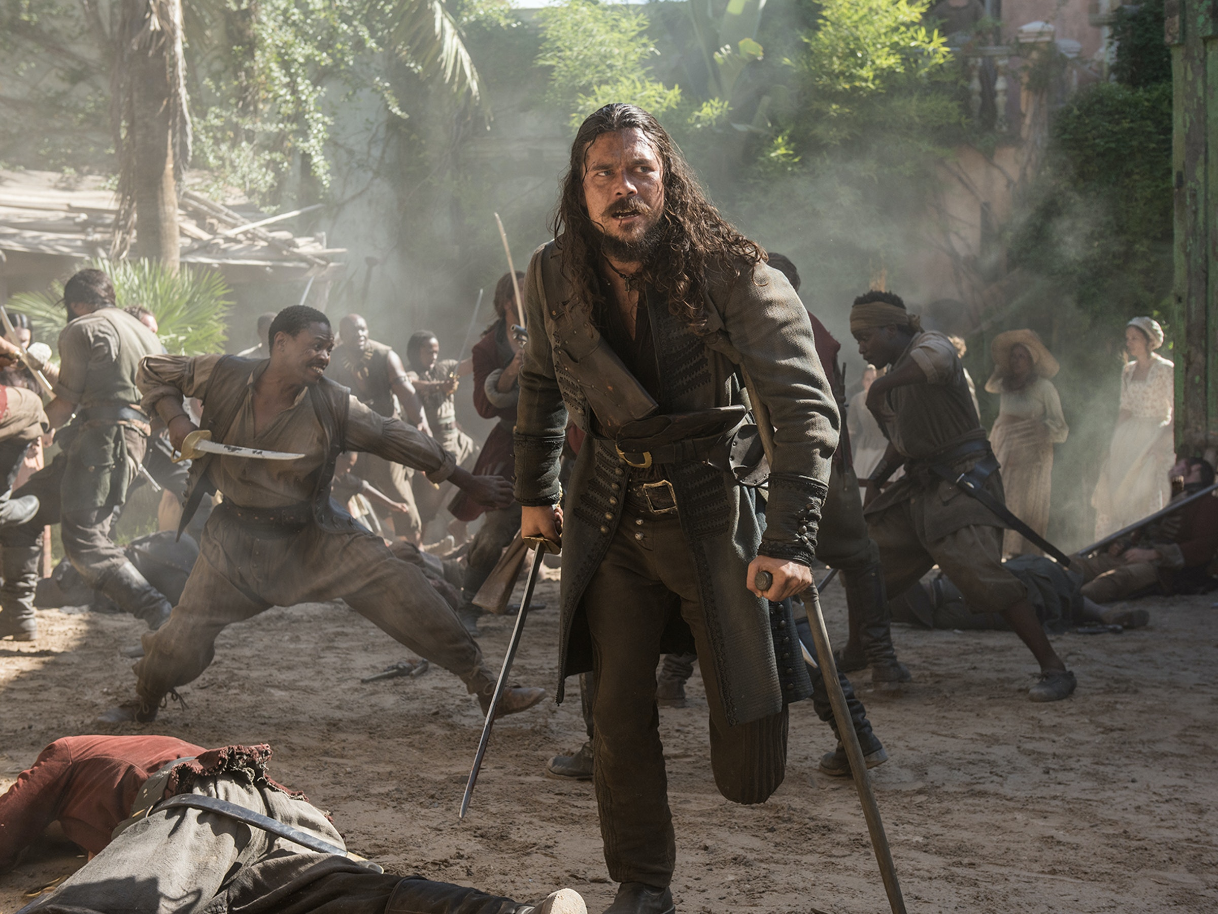 Silver Will Be the Center of 'Black Sails' Season 4