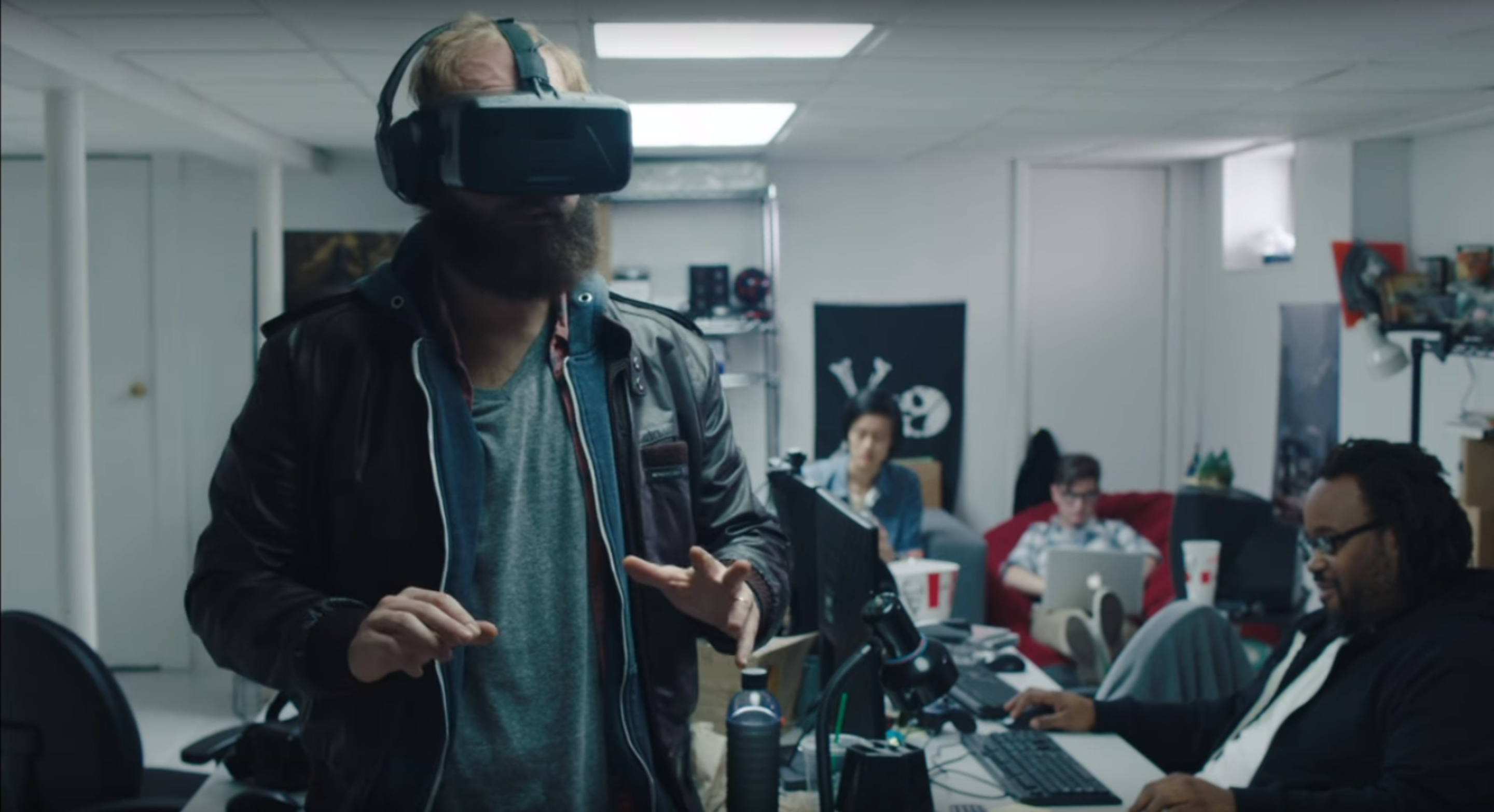 The Guy tries VR in 'High Maintenance' coming to HBO.