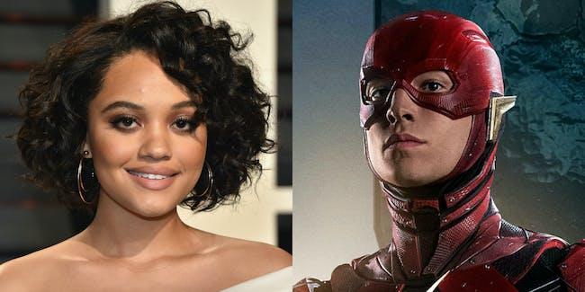 The Flash Justice League Iris West