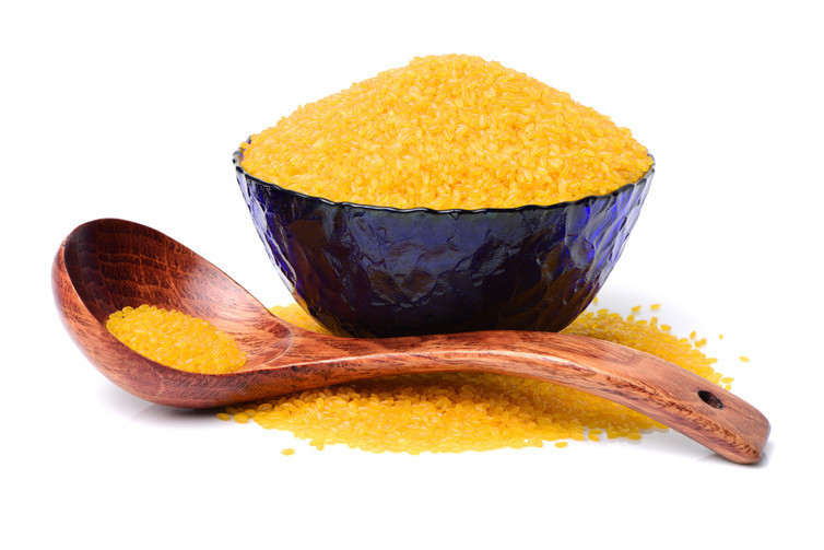 Golden rice is engineered to be rich in vitamin A.