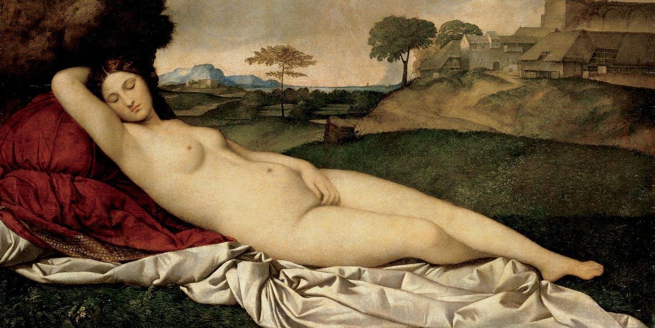 nipple study renaissance nude