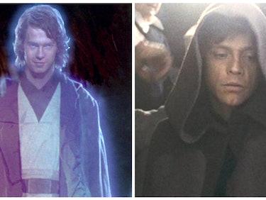 Could Anakin's Ghost Train Luke Skywalker in 'The Last Jedi?