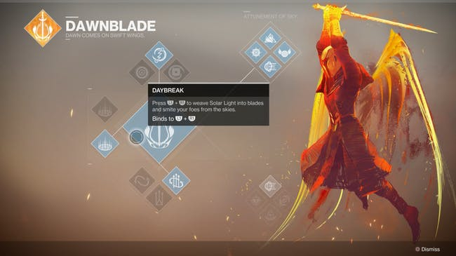 Destiny 2 Bungie Activision Gameplay Reveal Warlock Subclass Dawnblade