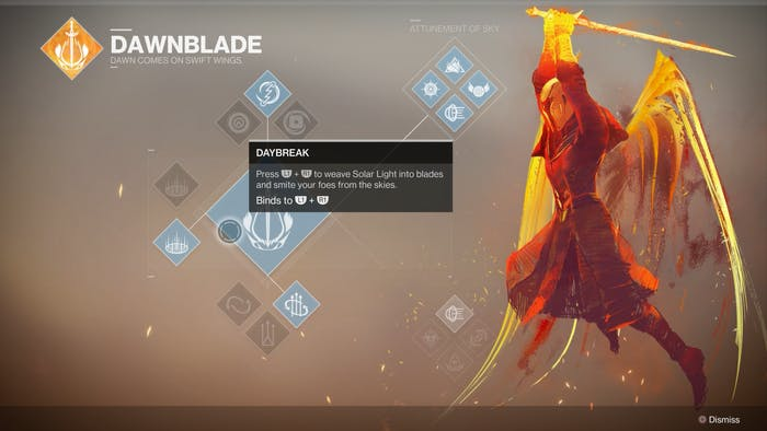 'Destiny 2' Bungie Activision Gameplay Reveal Warlock Subclass Dawnblade