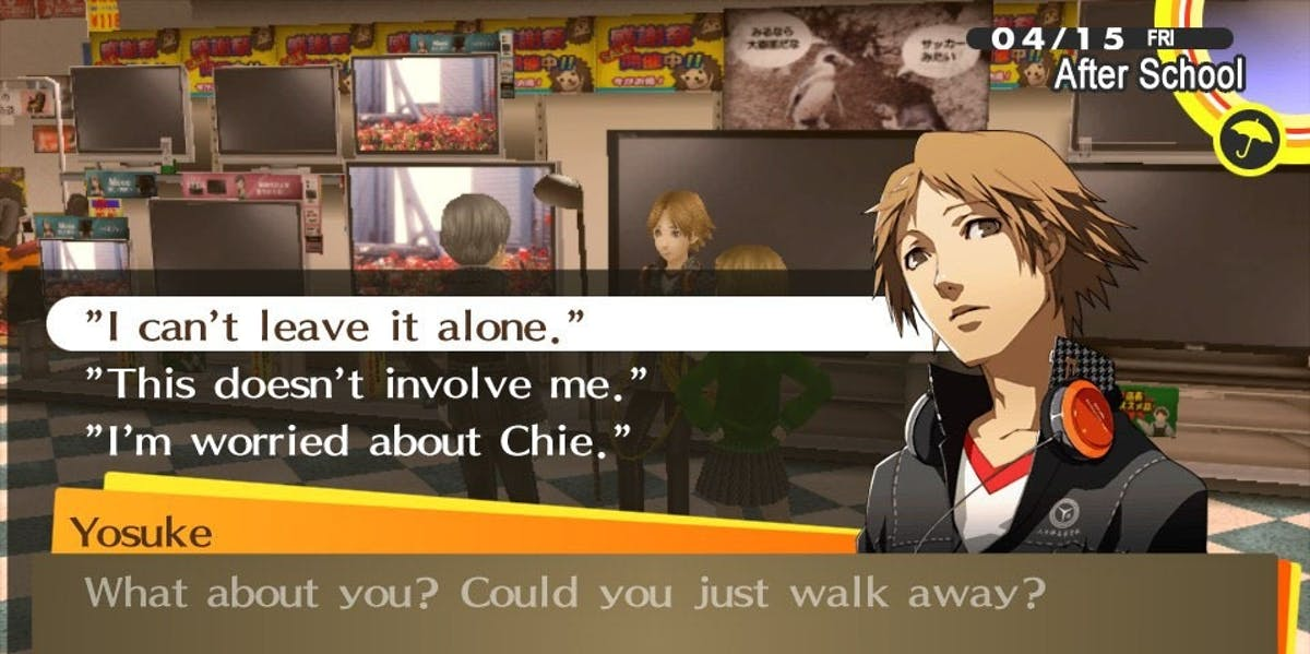 'Persona 4' asks the hard questions.