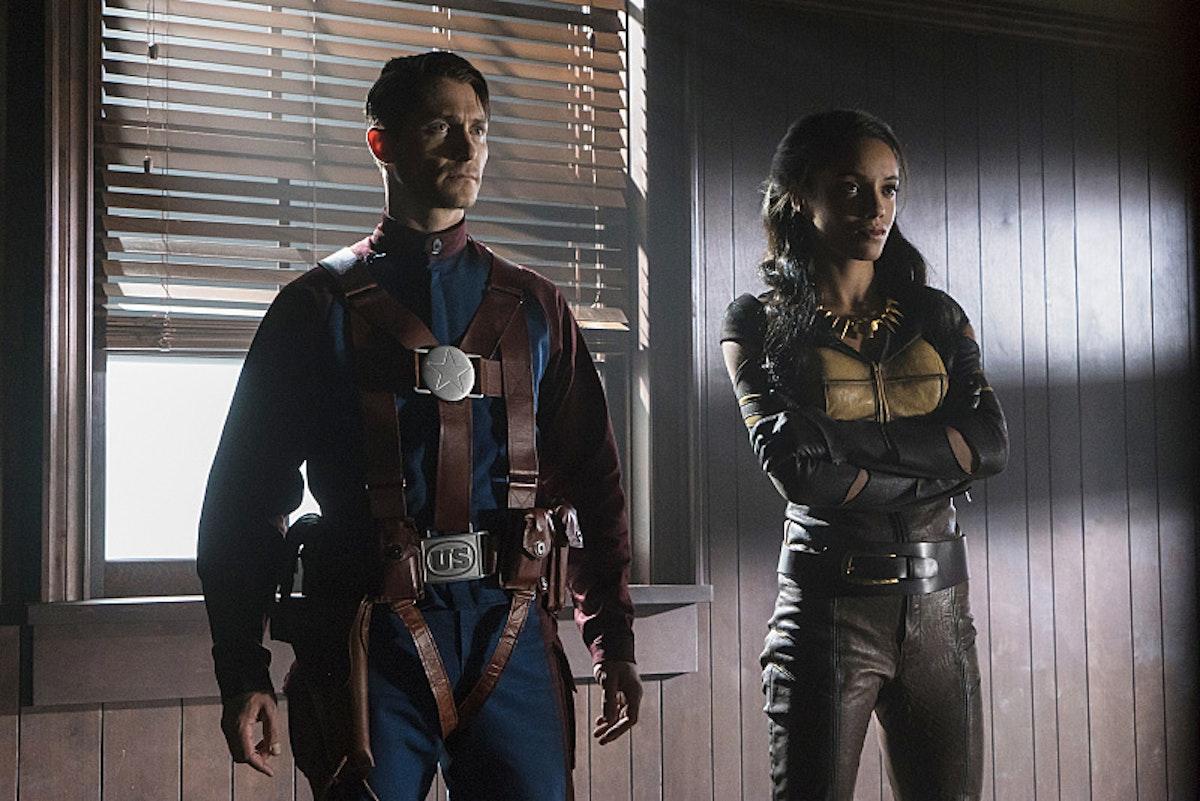 Citizen Steel Vixen Legends of Tomorrow Justice Society of America