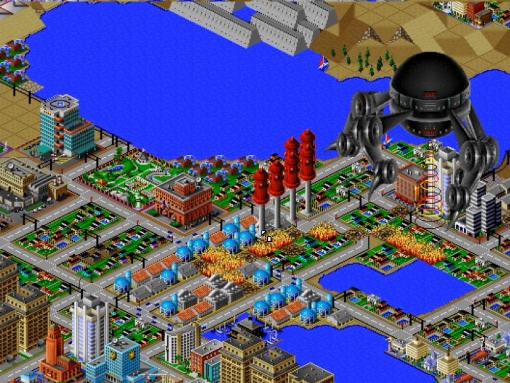 'SimCity 2000' Teaches 2016 Urban Planners to Reconsider Rebuilding, Alien Attacks
