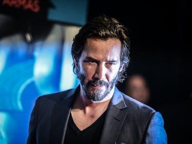 Photos Show Keanu Reeves Filming 'John Wick 2' in Rome