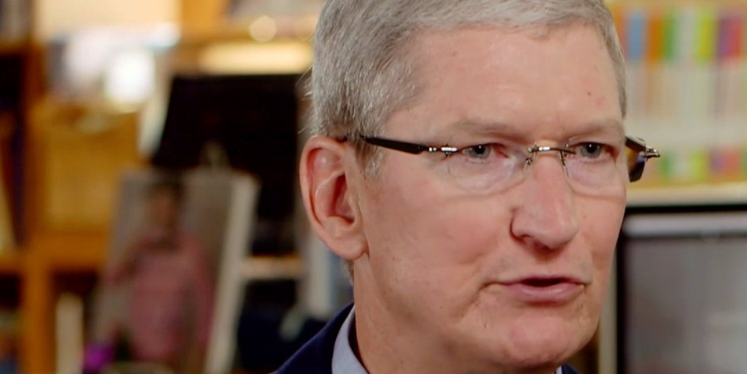 Tim Cook tells America about augmented reality.