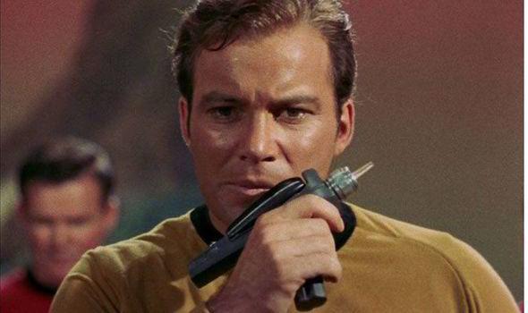 Kirk phaser Star Trek
