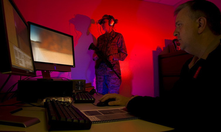 The military is working on incorporating virtual reality with exposure therapy for PTSD sufferers.