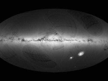 "ESA Releases a ""Billion-Star Atlas"" of the Milky Way Galaxy"
