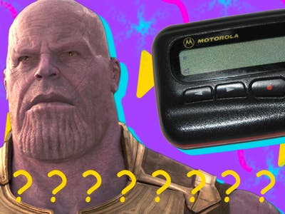 Infinity War Post-Credits Scene Pager