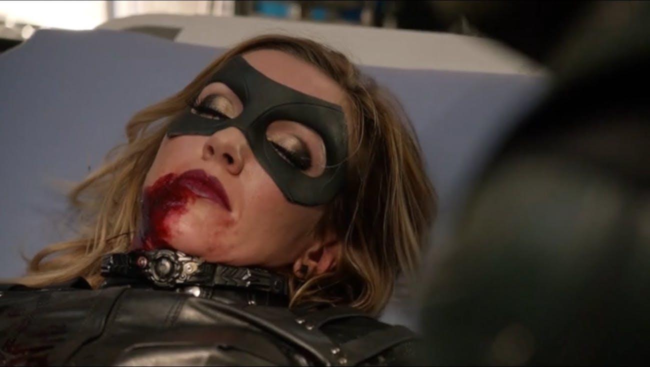 Earth-1 Laurel Lance was killed by Damien Darhk in 'Arrow' Season 4.