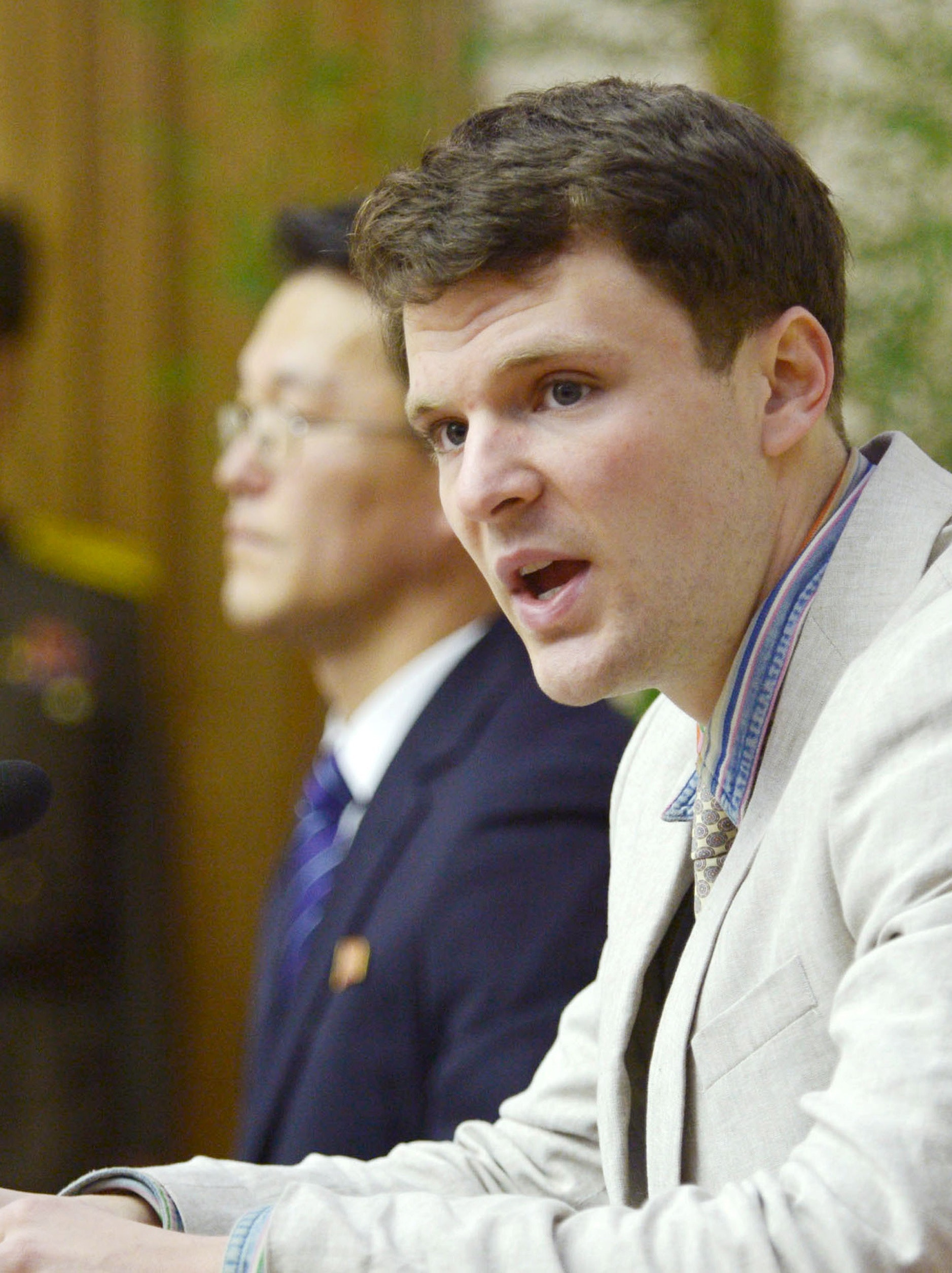 Otto Warmbier was sentenced to 15 years of hard labor in North Korea.