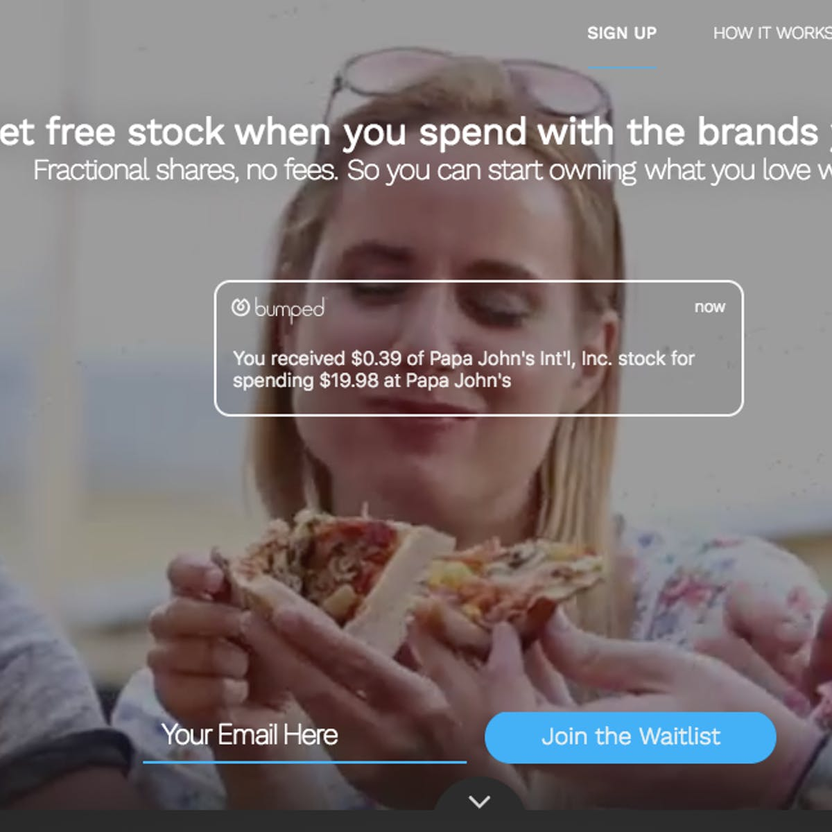 Fintech: Bumped Wants To Give Stock to Loyal Customers Instead of Cash Back