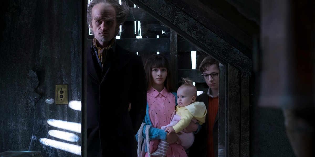 Neil Patrick Harris in 'A Series of Unfortunate Events'