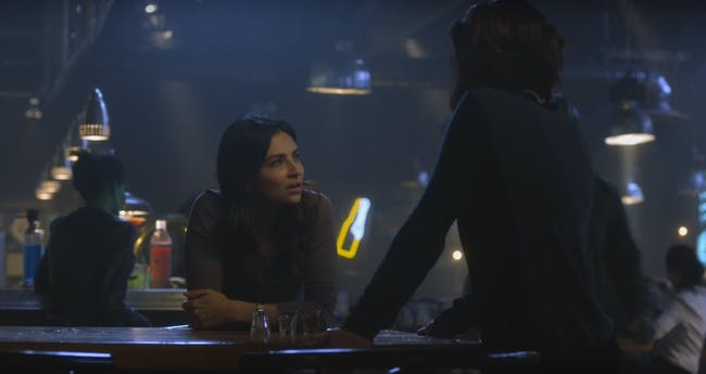 Alex and Maggie in 'Supergirl'