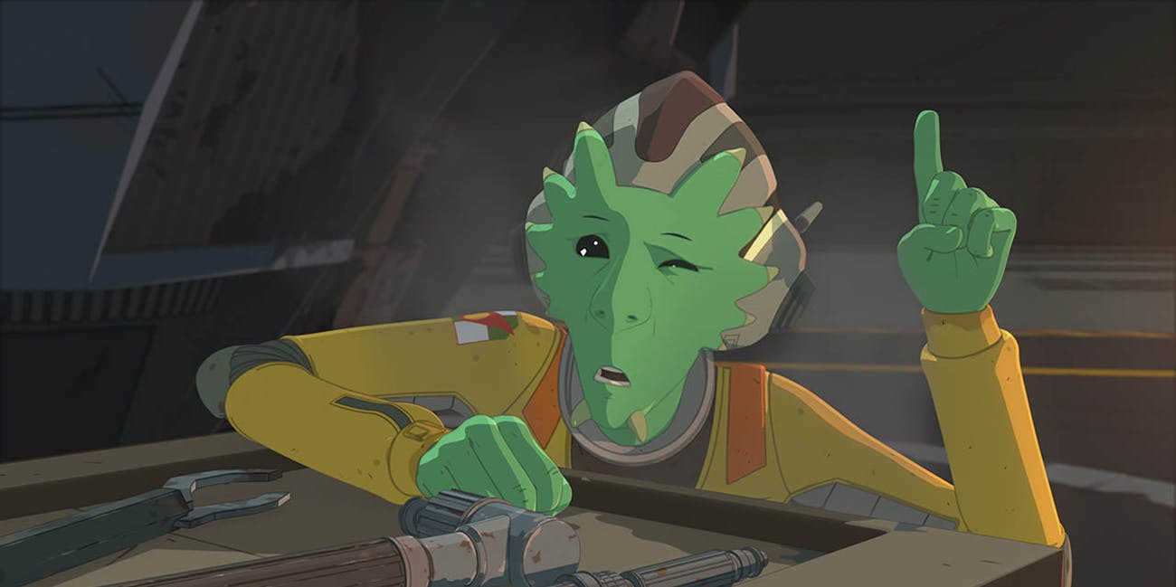 Neeku from Star Wars Resistance