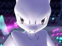 Mewtwo in 'Pokemon Let's Go'.