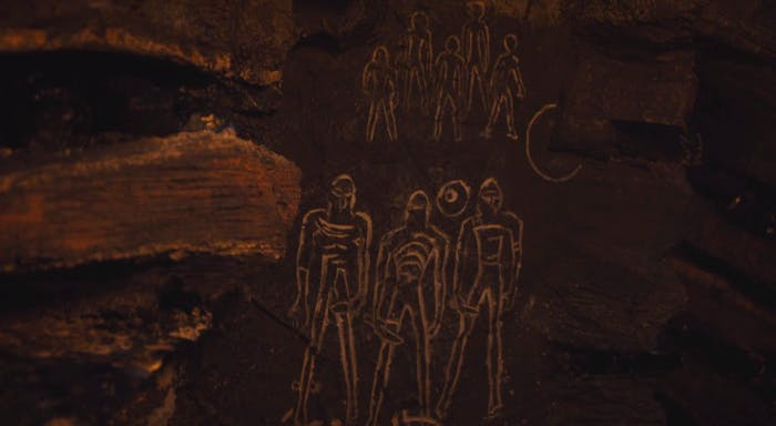 The cave paintings in 'Game of Thrones' Season 7