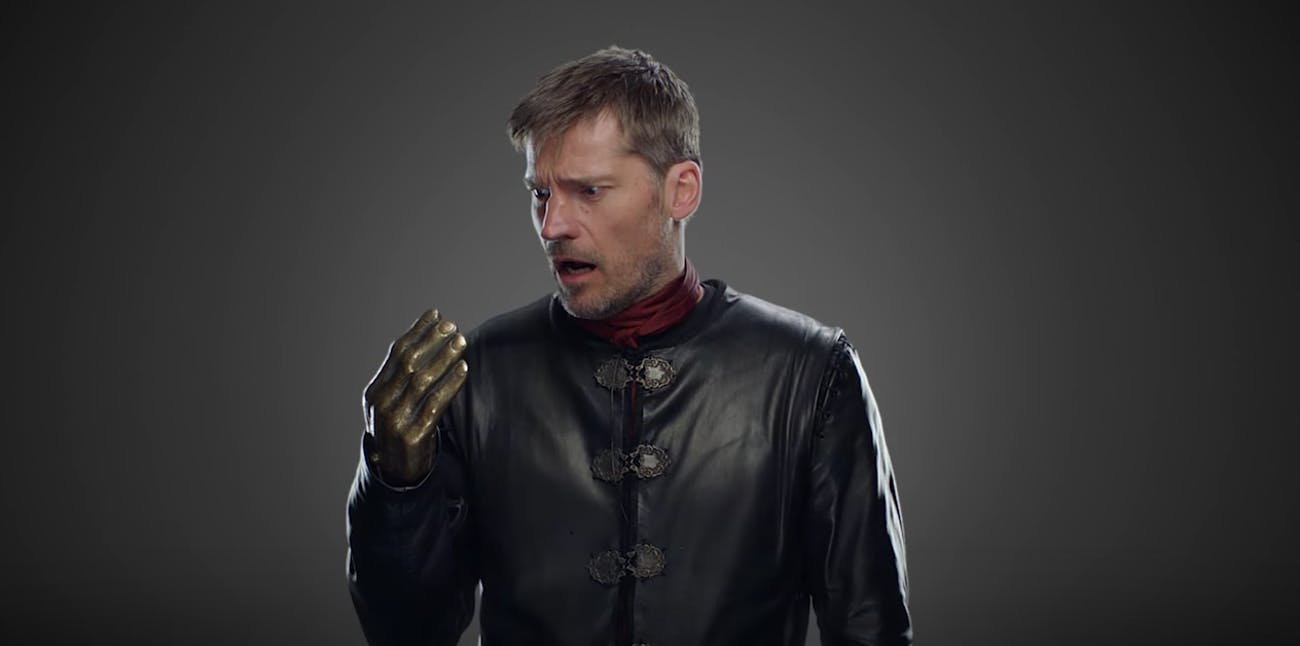 Nikolaj Coster Waldau in 'Game of Thrones' Season 7