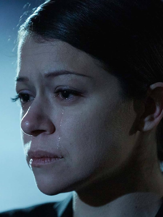 Emmy winner Tatiana Maslany as Beth in 'Orphan Black'