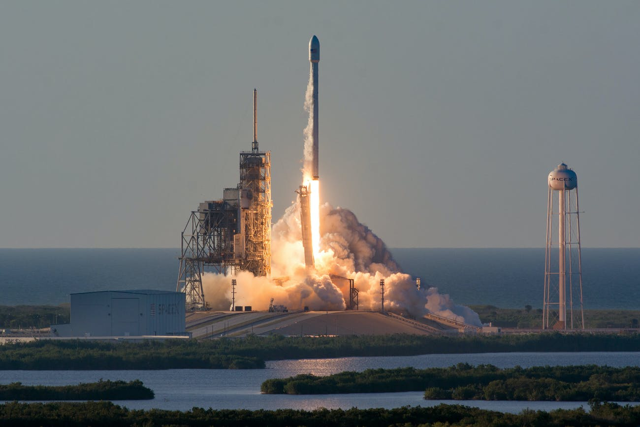 SpaceX Inmarsat-5 Mission launch